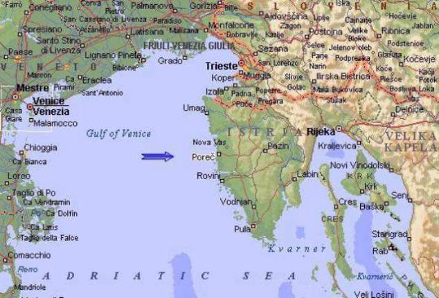 Istria_Map